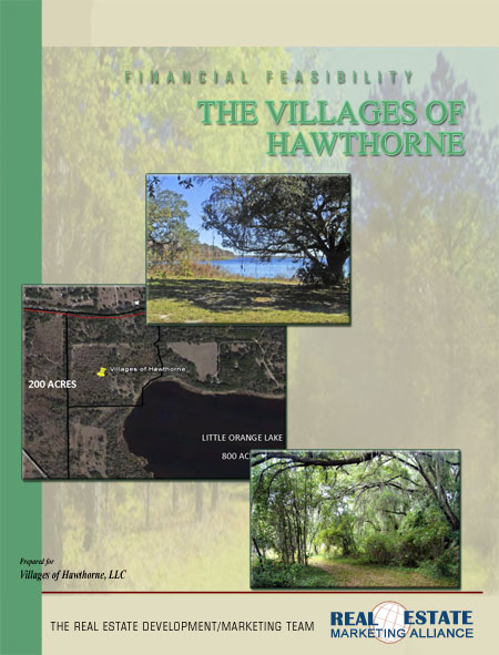 The Real Estate Marketing Alliance Marketing and Sales Financial Feasibility Example Cover Villages of Hawthorne